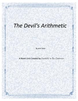 The Devil's Arithmetic  Novel Unit Plus Grammar