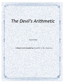 The Devil's Arithmetic  Novel Unit Plus Grammar