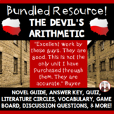 The Devil's Arithmetic Novel Unit Activities Bundle