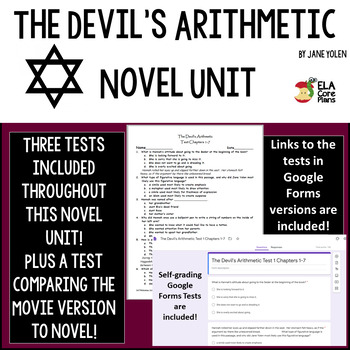 The Devil's Arithmetic Test Bundle ~ Four tests included!