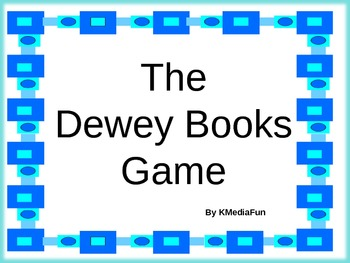 The Dewey Books Power Point or Concentration Game