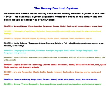The Dewey Spinner