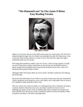 The Diamond Lens - Easy Reading Version