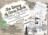 The Diary of Anne Frank-Reviewing Characters, Plot, Conflicts-{Flip Book}
