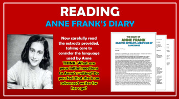 The Diary of Anne Frank Big Bundle!