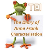 The Diary of Anne Frank Character Traits - TEI