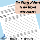 The Diary of Anne Frank Movie (2009) Worksheet