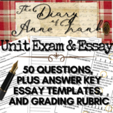The Diary of Anne Frank Test: 50-Questions (Plus Bonus Ess