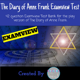 The Diary of Anne Frank Play Test Question Bank