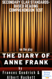 The Diary of Anne Frank Play by F. Goodrich & A. Hackett Reading Test