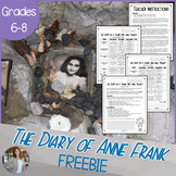 The Diary of Anne Frank Project FREEBIE
