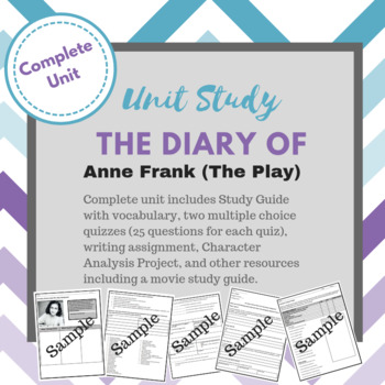 The Diary of Anne Frank (The Play)