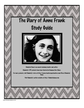 The Diary of Anne Frank Unit Bundle