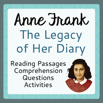 The Diary of Anne Frank Informational Texts Activities