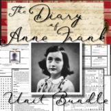 The Diary of Anne Frank: Complete Unit Bundle (70+ Pages/Slides of Activities)