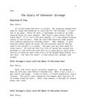 The Diary of Ebenezer Scrooge