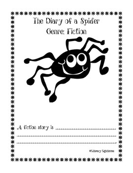 The Diary of a Spider Reading Comprehension Activities