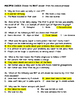 The Diary of a Young Girl- Anne Frank- Comprehension Questions Set 1