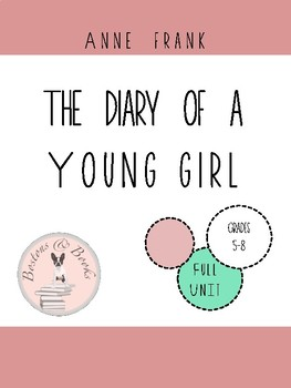 The Diary of a Young Girl by Anne Frank Unit Plan Bundle