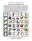 The Dice Game for the Initial /R/ and /S/ Sounds
