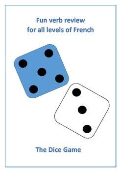 The Dice Game - review of French verbs