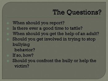 The Difference Between Tattling and Responsible Reporting (Grades K-5)