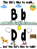 The Difference Between b and d