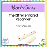 The Differentiated Recorder: Posters & Flashcards