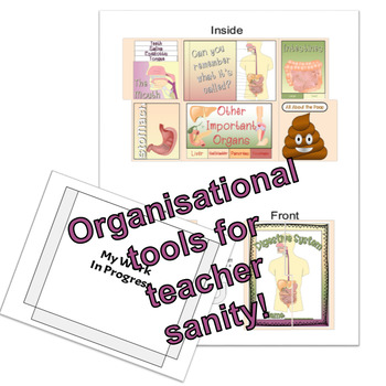 The Digestive System Lapbook (BC Curriculum Aligned Organ Systems Unit:Part 1)