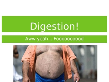 The Digestive System Lesson - Powerpoint and Flipped Classroom Tool