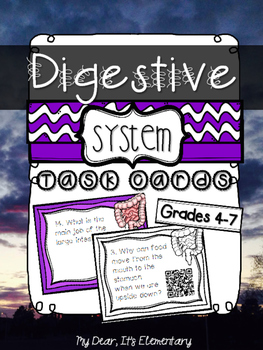 The Digestive System {QR TASK CARDS}