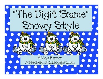 The Digit Game - Winter Style