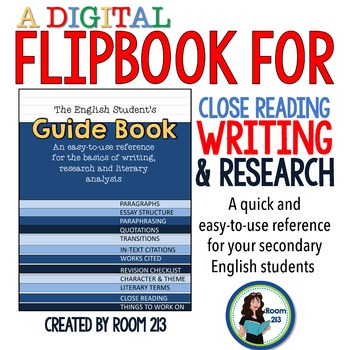 The Digital Guidebook to Writing, Research & Analysis