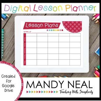 The Digital Teacher Planner
