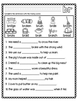 Blends and Digraphs-Br