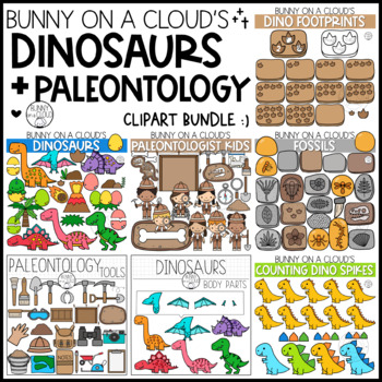 The Dinosaurs Bundle by Bunny On A Cloud