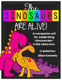 "The Dinosaurs are ALIVE! Celebrating ""Dinovember"" in the C"