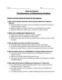 The Dinosaurs of Waterhouse Hawkins - Read and Respond Rea