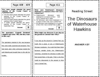 The Dinosaurs of Waterhouse Hawkins - 5th Grade Reading Street