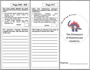 the dinosaurs of waterhouse hawkins 5th grade reading. Black Bedroom Furniture Sets. Home Design Ideas