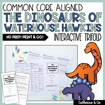The Dinosaurs of Waterhouse Hawkins Trifold (Reading Stree