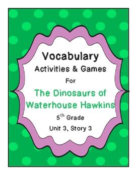 The Dinosaurs of Waterhouse Hawkins Vocabulary Activities