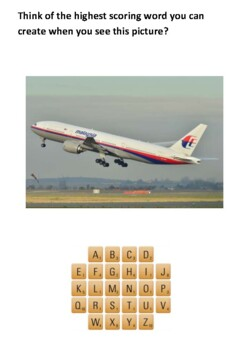 The Disappearance of Malaysia Airlines Flight 370 Handout