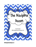 The Discipline Dozen (Chevron)-appropriate/inappropriate b