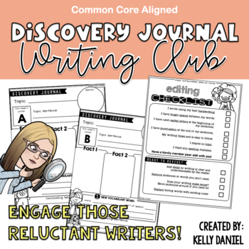 Engaging Reluctant Writers: The Discovery Journal