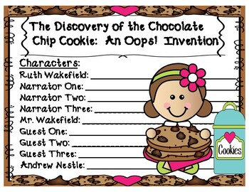 "The Discovery of the Chocolate Chip Cookie:  An ""Oops!  Invention"