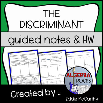The Discriminant (Guided Notes & Assessment)