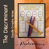 The Discriminant of the Quadratic Formula Doodle Graphic Organizer