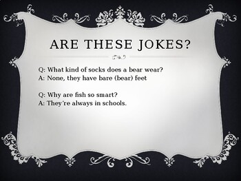 The Dissection of a Joke