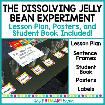 The Dissolving Jelly Bean Science Experiment